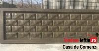 GARD DE BETON MILANO (ARMAT CU PLASA DE 6) 2000×500 - GARD DE BETON MILANO (ARMAT CU PLASA DE 6) 2000×500