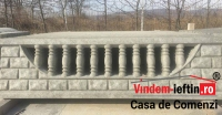 GARD DE BETON ANCONA (ARMAT CU PLASA DE 6) 2000×450 - GARD DE BETON ANCONA (ARMAT CU PLASA DE 6) 2000×450