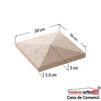 CAPAC STALP GARD ROMA 30X30X5 CM - CAPAC STALP GARD ROMA 30X30X5 CM