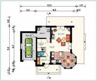 proiecte case cu mansarda 2370