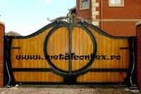poarta din lemn 13325