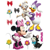STICKER DECORATIV COPII - MINNIE SI DAISY - STICKER DECORATIV COPII - MINNIE SI DAISY