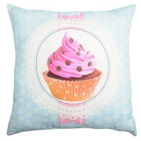 PERNA DECORATIVA CHANTILLY BLEU €� CUPCAKE - PERNA DECORATIVA CHANTILLY BLEU €� CUPCAKE