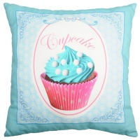 PERNA DECORATIVA CHANTILLY TURCOAZ €� CUPCAKE - PERNA DECORATIVA CHANTILLY TURCOAZ €� CUPCAKE