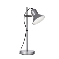 LAMPA DE BIROU ARGINTIE POLLY TL1 - IDEAL LUX - LAMPA DE BIROU ARGINTIE POLLY TL1 - IDEAL LUX