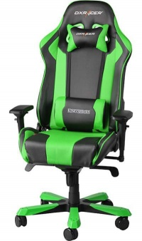 SCAUN GAMING DXRACER KING-VERDE - SCAUN GAMING DXRACER KING-VERDE