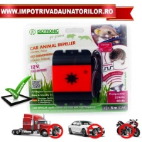 APARAT ANTI ROZATOARE AUTO CAR ANIMAL REPELLER - APARAT ANTI ROZATOARE AUTO CAR ANIMAL REPELLER