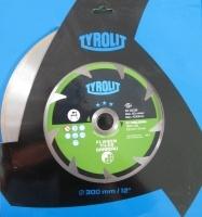 300X2,2 - TAIAT GRESIE - DISC DIAMANTAT TYROLIT - 300X2,2 - TAIAT GRESIE - DISC DIAMANTAT TYROLIT