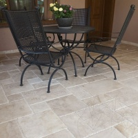 TRAVERTIN CLASSIC FRENCH PATTERN 3CM (PAVAJ EXTERIOR) - TRAVERTIN CLASSIC FRENCH PATTERN 3CM (PAVAJ EXTERIOR)