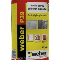 ADEZIV WEBER POLISTIREN EXPANDAT WEBER P39 - ADEZIV WEBER POLISTIREN EXPANDAT WEBER P39
