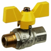 ROBINET SFERA PT GAZ CU FLUTURE FI-FE - D[INCH]: 1 - ROBINET SFERA PT GAZ CU FLUTURE FI-FE - D[INCH]: 1