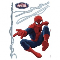STICKER PERETE SPIDERMAN - STICKER PERETE SPIDERMAN