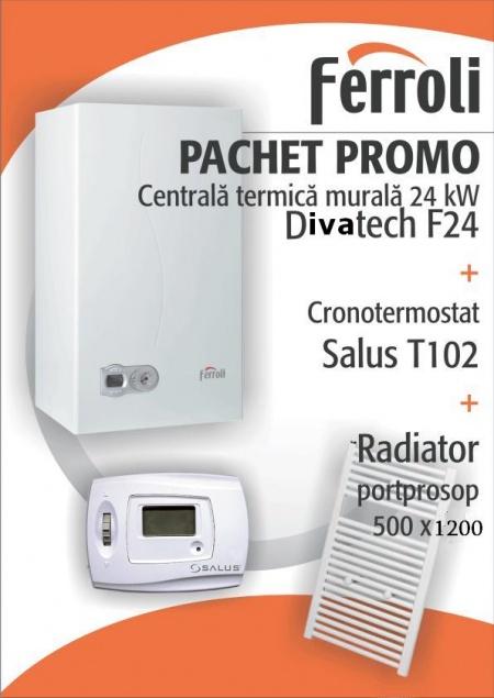 Centrala termica murala ferroli divatech f24 termostat for Ferroli f24d