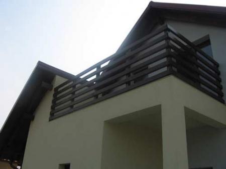 Terase si balcoane ornamentale terase balcoane balcoane for Modele de balcon din lemn
