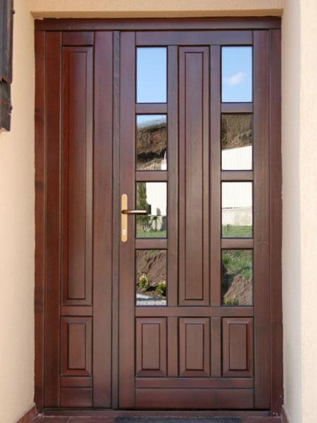 Usi exterioare din lemn stratificat ue 067 ferestre si - Modele usi termopan exterior duble ...