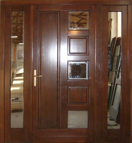 Usi exterioare din lemn stratificat ferestre si usi usi - Modele usi termopan exterior duble ...