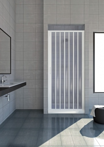 paravan frontal cadita dus 100 cm model venere al baie. Black Bedroom Furniture Sets. Home Design Ideas