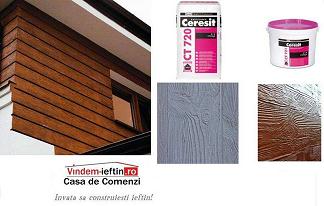 Tencuiala Decorativa Ceresit Pret.Tencuiala Cu Aspect De Lemn Visage By Ceresit Ct 720 Materiale