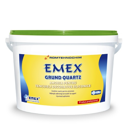 GRUND DE AMORSARE SILICONIC CU CUART PENTRU TENCUIELI EMEX /KG