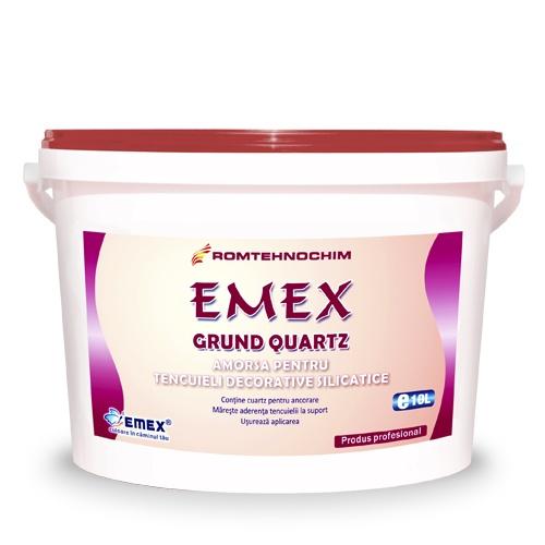 GRUND DE AMORSARE SILICATIC CU CUART PENTRU TENCUIELI EMEX /KG