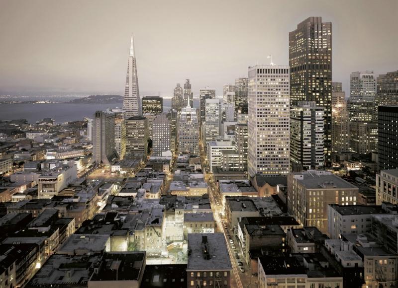 FOTOTAPET URBAN – LUMINI DIN SAN FRANCISCO