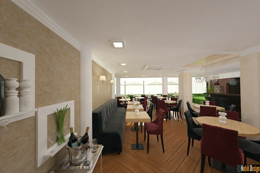 DESIGN INTERIOR RESTAURANT BUCURESTI