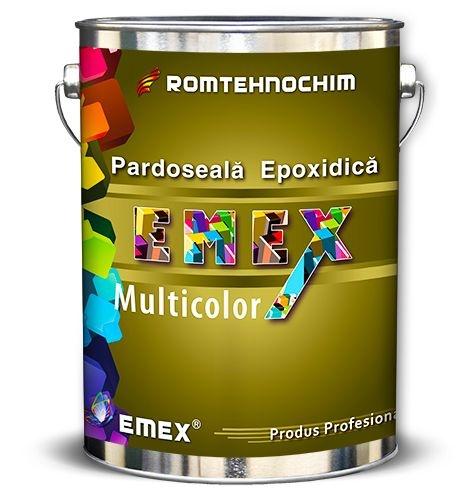 PARDOSEALA EPOXIDICA CU PLACHETE COLORATE EMEX MULTICOLOR