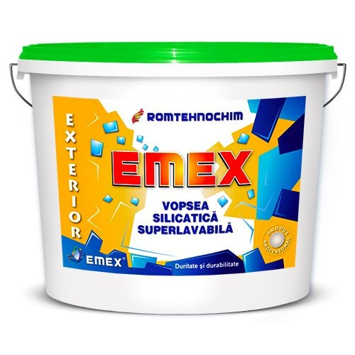 VOPSEA LAVABILA SILICATICA  EXTERIOR EMEX / BIDON 15 L