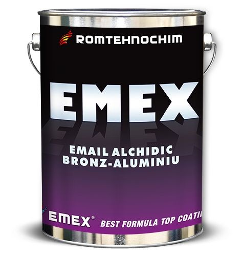 EMAIL ARGINTIU METALIZAT BRONZ-ALUMINIU EMEX