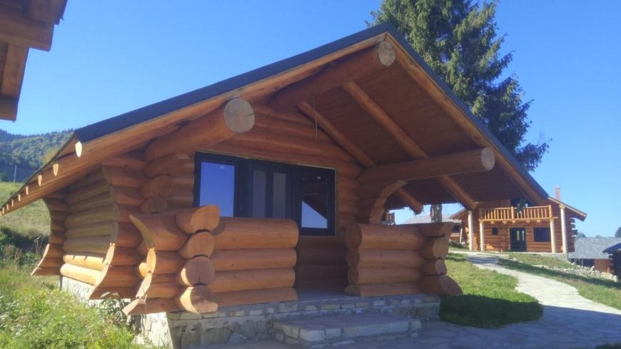 Constructii Case Si Cabane Lemn Rotund Case Si Vile