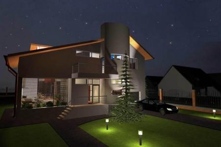 Locuinta sp p m case si vile proiecte case for Proiect casa clasica b 178 m