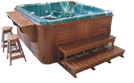 Jacuzzi exterior piscina si sauna spa piscine for Tipos de jacuzzi exterior