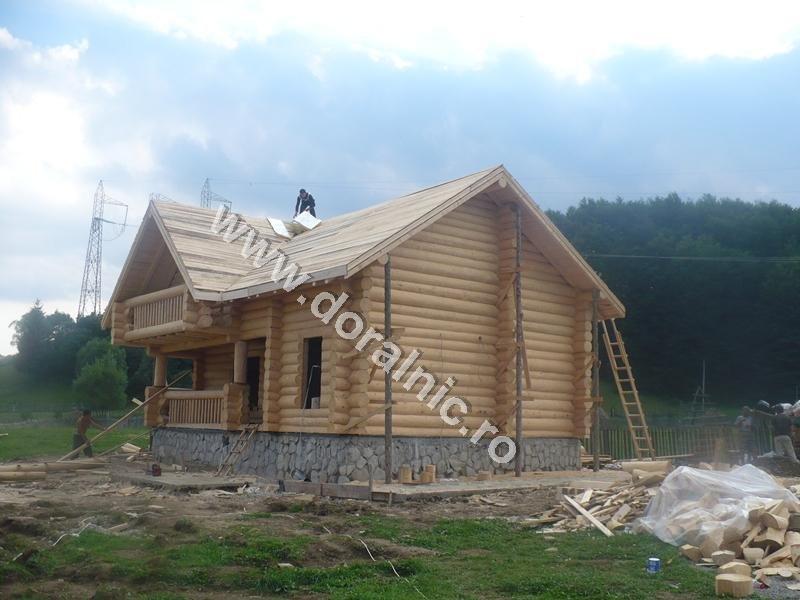 kit case din lemn case si vile case de lemn