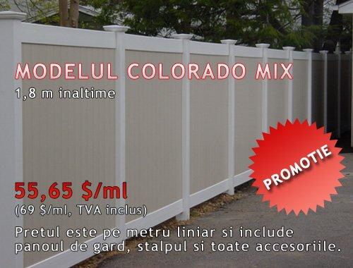 GARD DIN PVC, MODEL COLORADO MIX