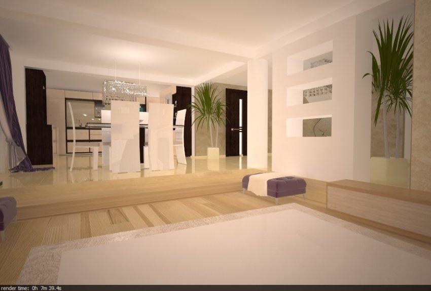 Interioare case decoratiuni living servicii design for Interioare case moderne