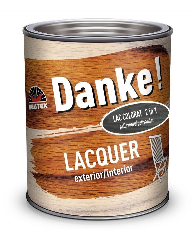 LAC DANKE LACQUER COLORAT PENTRU LEMN EXTERIOR 0.75L