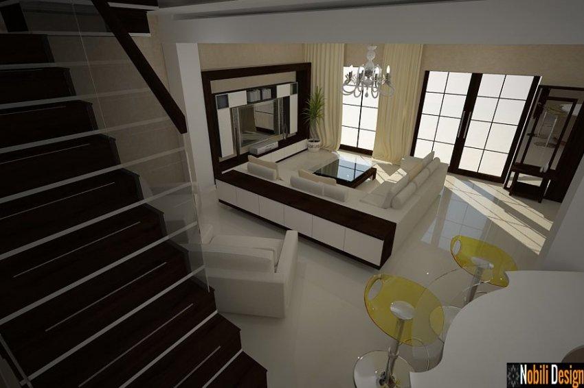 Design interior case moderne bucuresti amenajari interioare servicii design interior - Design case moderne ...