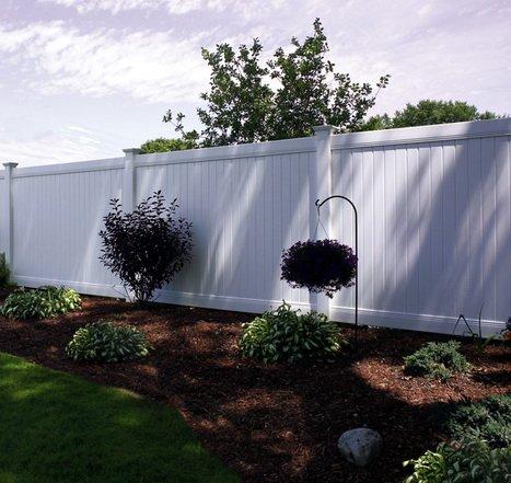 Garduri pvc pentru casa si gradina model colorado for Modele de garduri pentru case