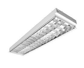 CORP INCASTRAT PENTRU ILUMINATUL FLUORESCENT - WHITE SIGHT - 2X36W, 300X1200MM, OPTIMA LA, ELECTROMA