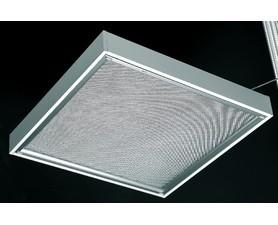 CORP INCASTRAT PENTRU ILUMINATUL FLUORESCENT - WHITE SIGHT - 4X18W, 600X600MM, OPTICA LT, ELECTRONIC