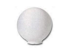 GLOBOLUX D400 DIN PMMA TRANSPARENT, CU BAZA PLASTIC FARA SOCLU, E27, FARA STALP