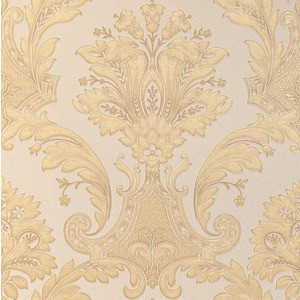 TAPET FLORAL ROMANTIC IMPERIO GOLD