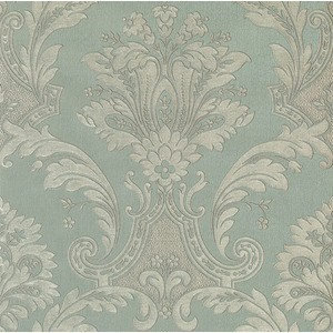 TAPET FLORAL ROMANTIC IMPERIO GREEN