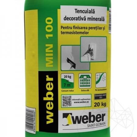 TENCUIALA DECORATIVA MINERALA WEBER MIN 100 WEBER MIN 100 - K 2