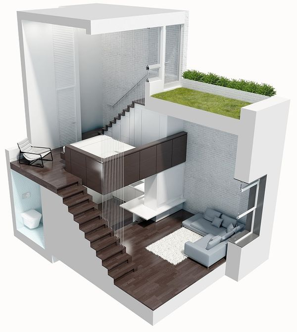 Plan apartament Manhattan