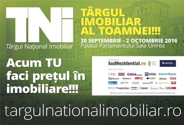 Macheta Targul National Imobiliar septembrie 2016