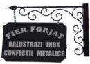 Firme Fier forjat si confectii metalice